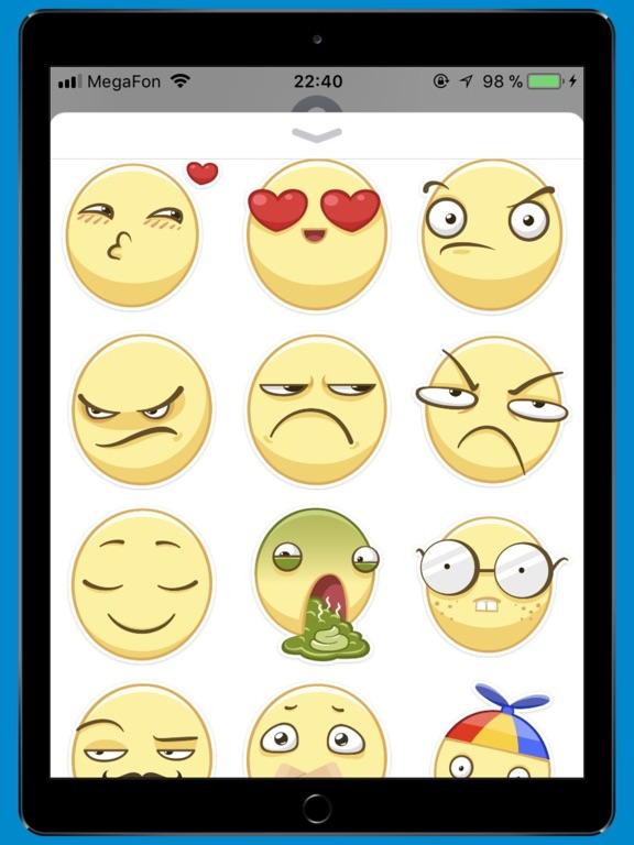 smileSTiK sticker for iMessage-ipad-0
