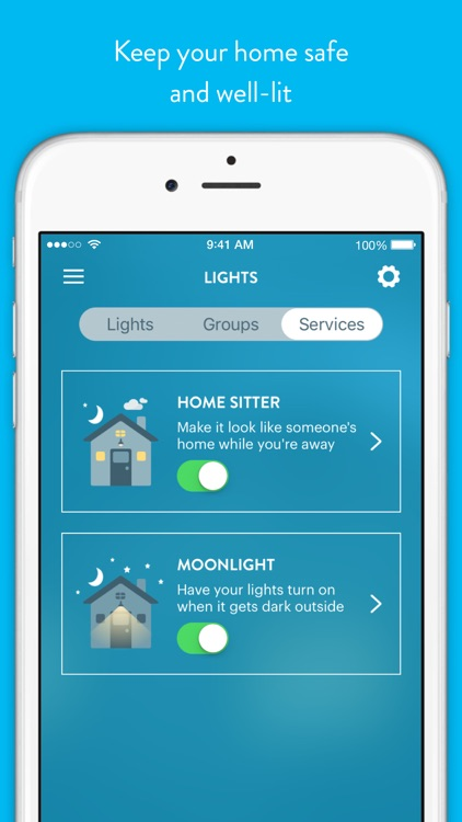 Wink - Smart Home screenshot-4