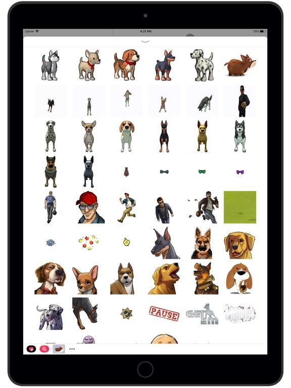 Screenshot #1 for Get 'Em Stickers