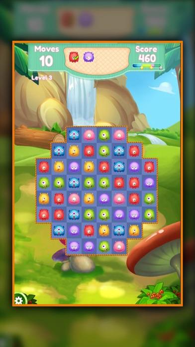 Jelly Monster - Match 3 screenshot four