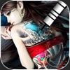 纹身设计 - 彩绘刺青人体艺术图库