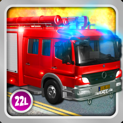 ‎Kids Vehicles Fire Truck games