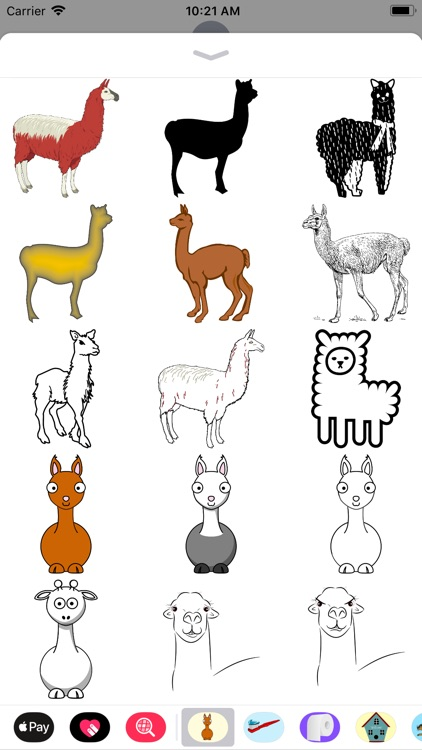 Lllama Stickers screenshot-1