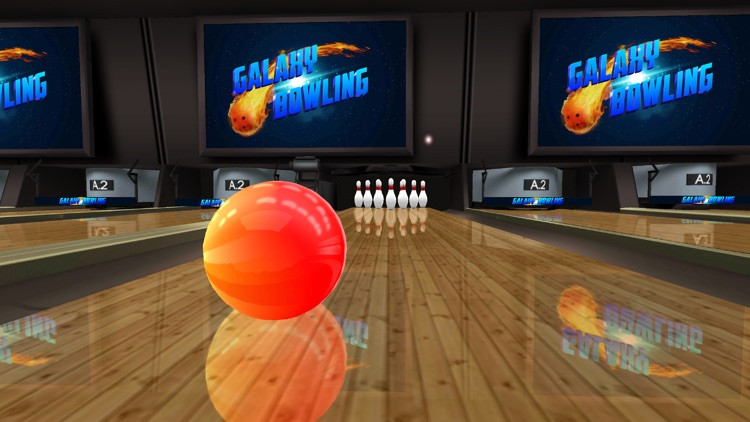 Galaxy Bowling HD screenshot-4