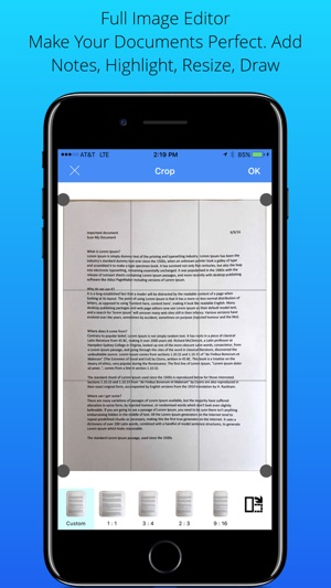 Scan My Document - PDF Scanner Screenshot