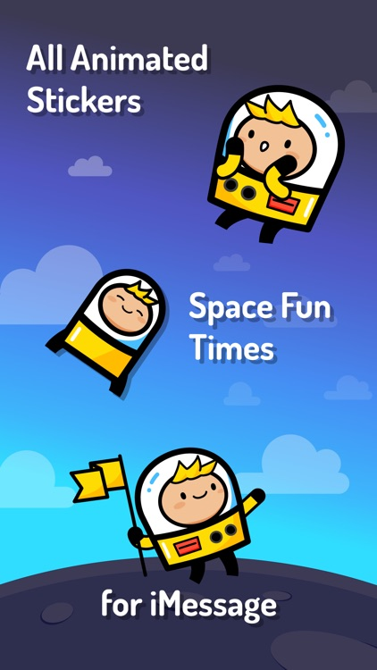 Kid Wonder Space Stickers