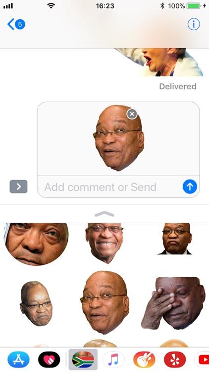 SA Political Stickers