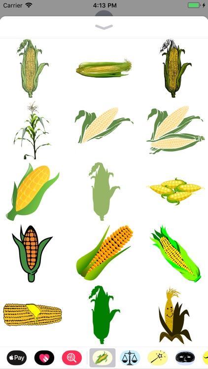 Corn Stickers