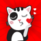App Icon for Angry Kitten iMessage Stickers App in Saudi Arabia App Store