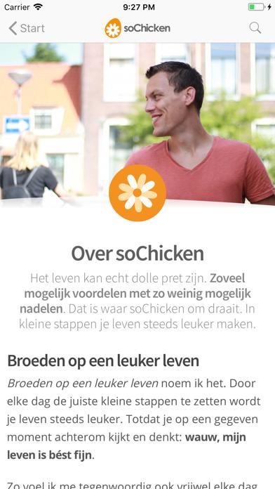 soChicken iPhone app afbeelding 2