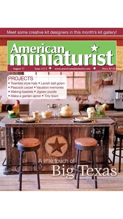 American Miniaturist: The miniaturists' magazine where little things matter screenshot-3