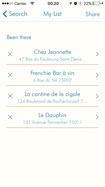 ParisEats - curated selection of Paris restaurants screenshot-3