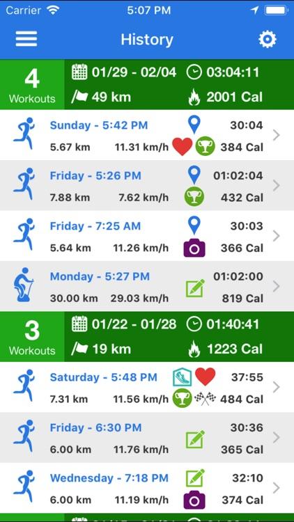 SportyCloud, Running, Sports screenshot-3
