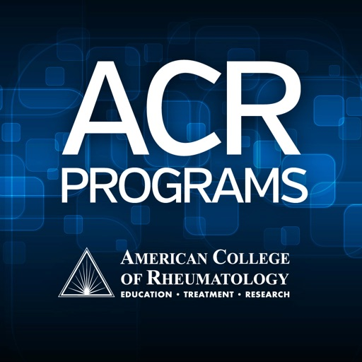 ACR Programs by American College of Rheumatology