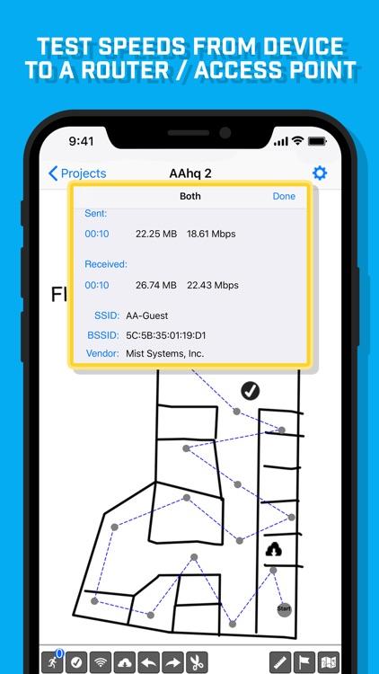 WiFi Survey screenshot-4