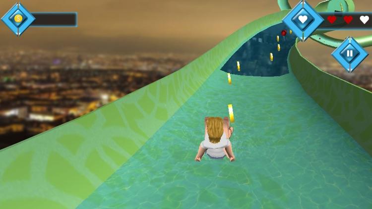Water Slide Park Adventure 3D screenshot-3
