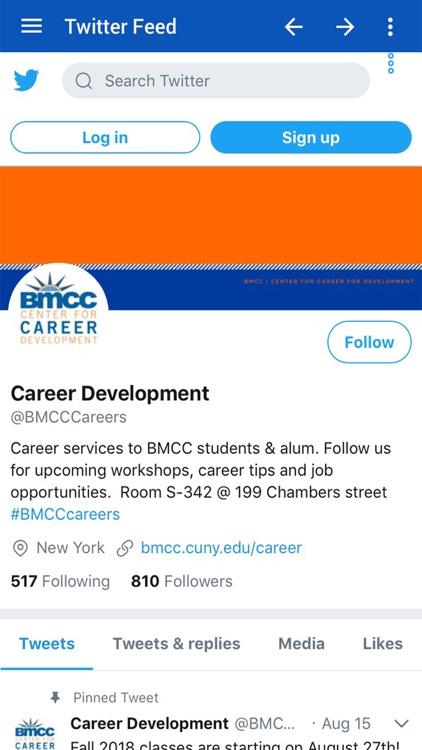 BMCC Career Fair by Eventus io