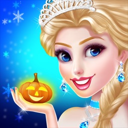 Ice Princess Makeup & Dress up