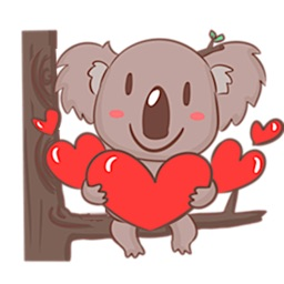 Cute Koala Koalamoji Sticker