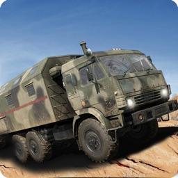Military Truck Drive War Zone