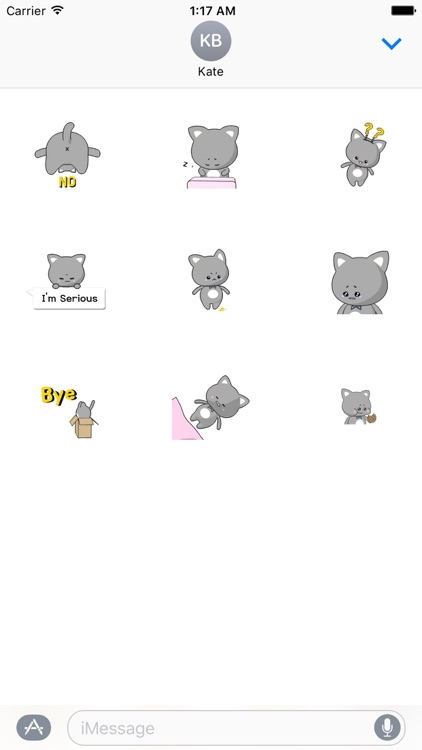 Animated Cat Stickers
