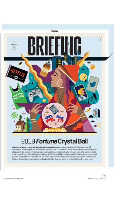 Fortune Magazine review screenshots