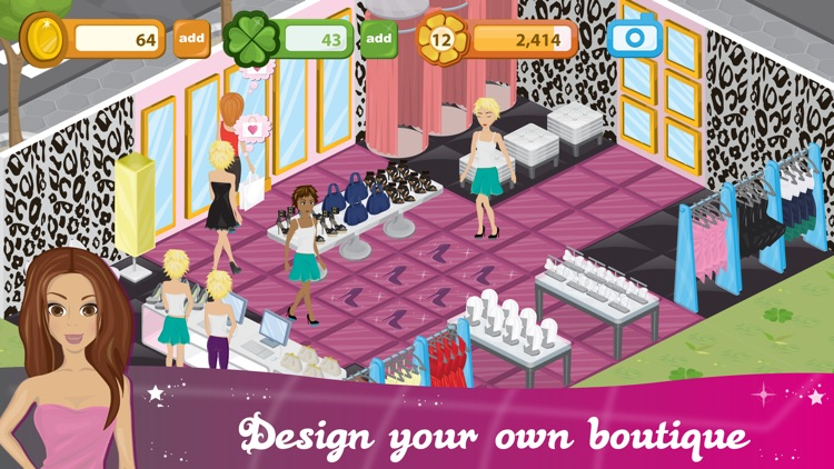 Fashion City: World of Fashion screenshot-3