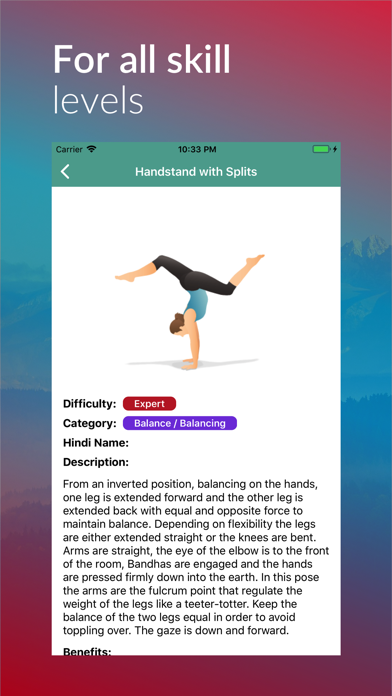 Yoga Guide Asanas Pro screenshot three
