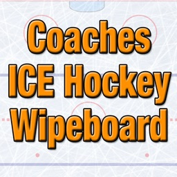 Coaches Ice Hockey Wipeboard