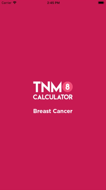 TNM8 Breast Cancer Calculator screenshot-0
