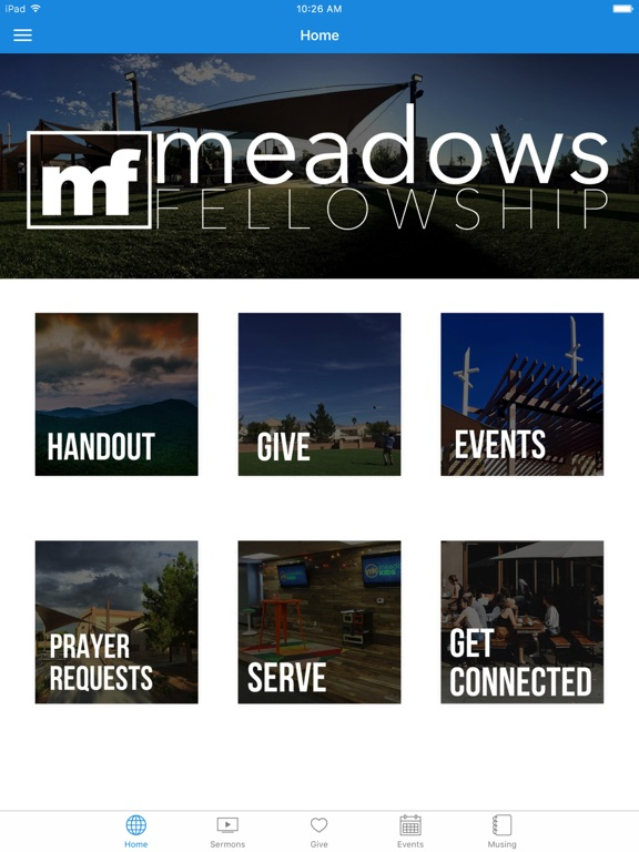 Meadows Fellowship screenshot 4