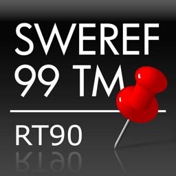 Swedish Coordinates - SWEREF 99 TM - RT90