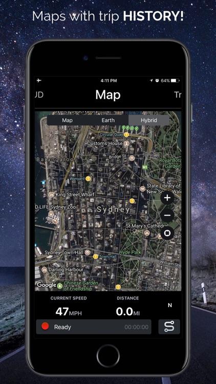 Speedometer - HUD Navigation screenshot-3