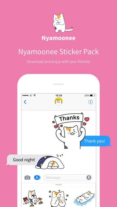 Nyamoonee's daily life screenshot one