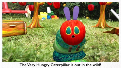 My Very Hungry Caterpillar AR screenshot 1