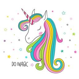 Stunning Unicorn Stickers