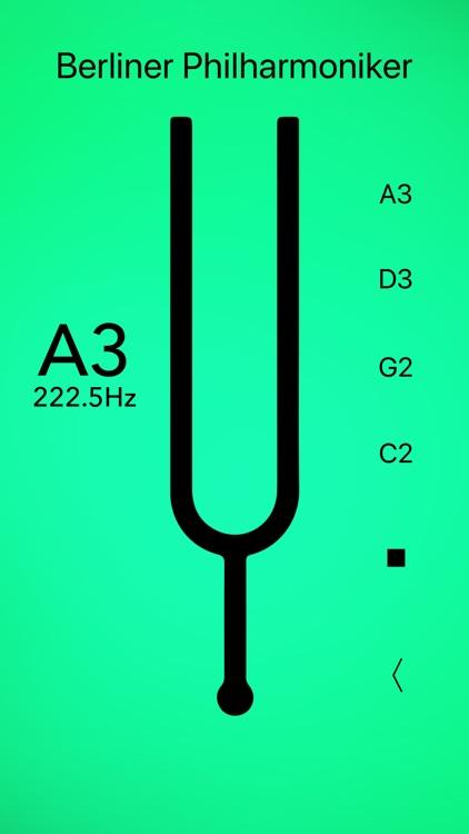 Cello Tuner Basic screenshot-5