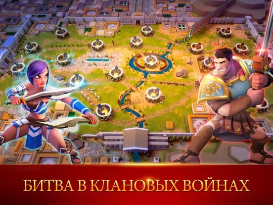 Gladiator Heroes на iPad