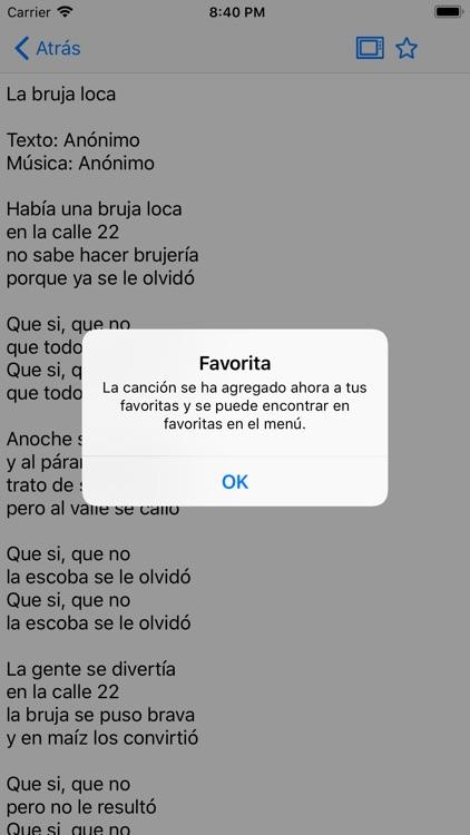 Cancionero screenshot-3