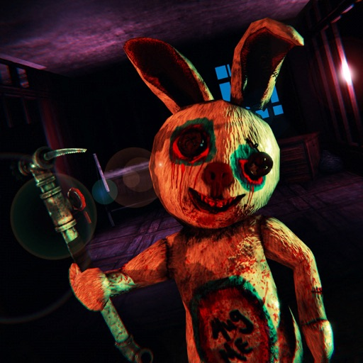 Scary Bunny Haunted House Game iOS App