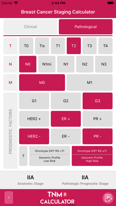 TNM8 Breast Cancer Calculatorのおすすめ画像4