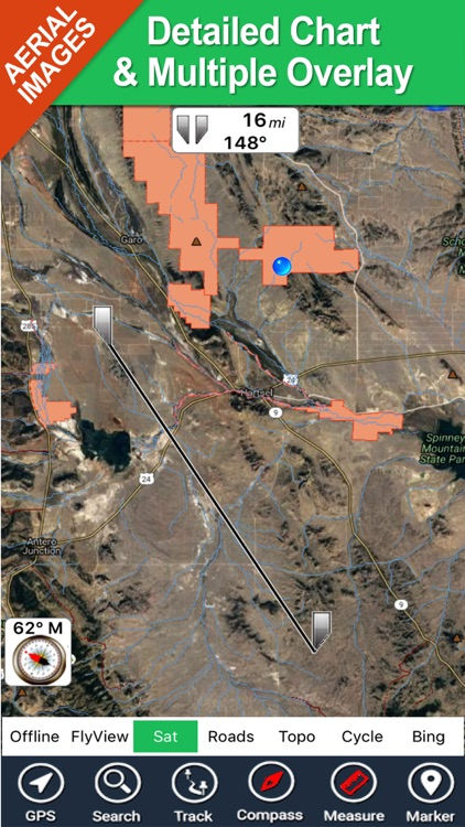 Hunting Map - Colorado GPS