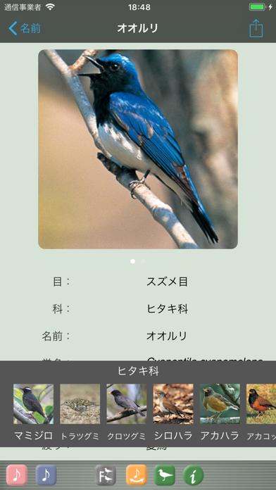 野鳥の鳴き声図鑑 ScreenShot0