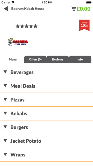 Bodrum Kebab House screenshot two