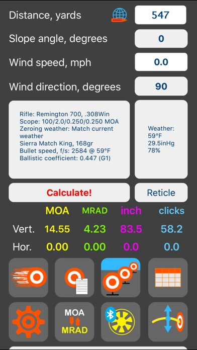 Strelok Pro app image
