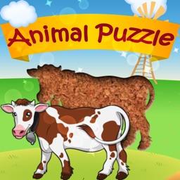 Peg Puzzle - Animals