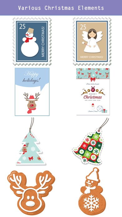 Christmas Lettering Stickers . screenshot 3