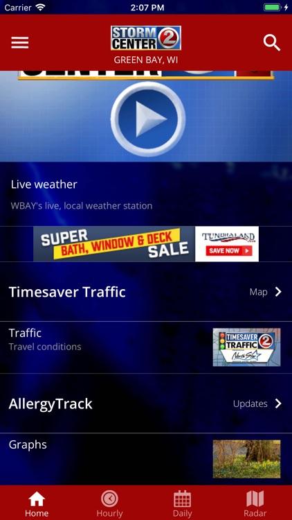 WBAY WEATHER - StormCenter 2 screenshot-4