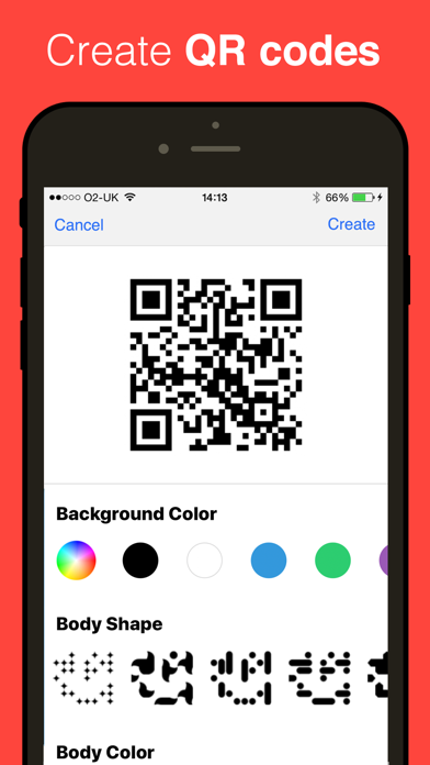 QR Reader for iPhone (Premium) Screenshot