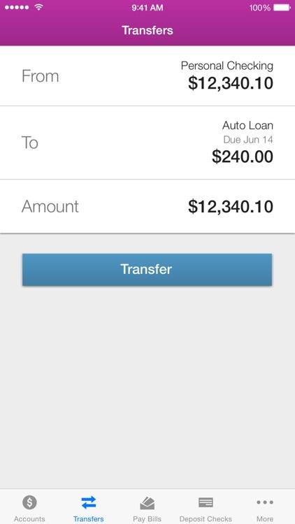 1ST SUMMIT Mobile Banking screenshot-3